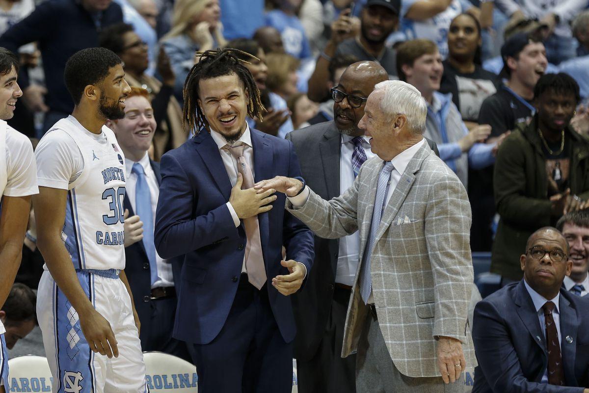 NCAA Basketball: Miami-Florida at North Carolina
