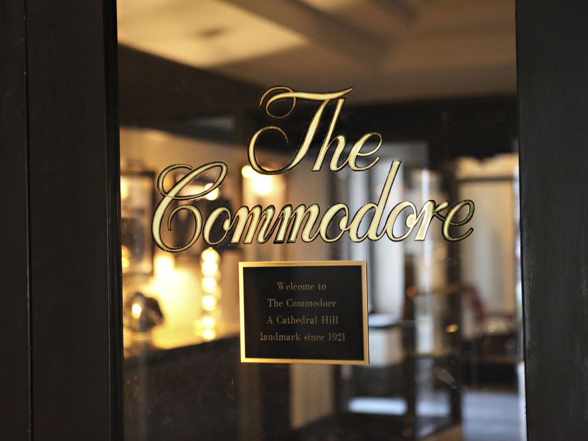Behind the Art Deco Doors of The Commodore