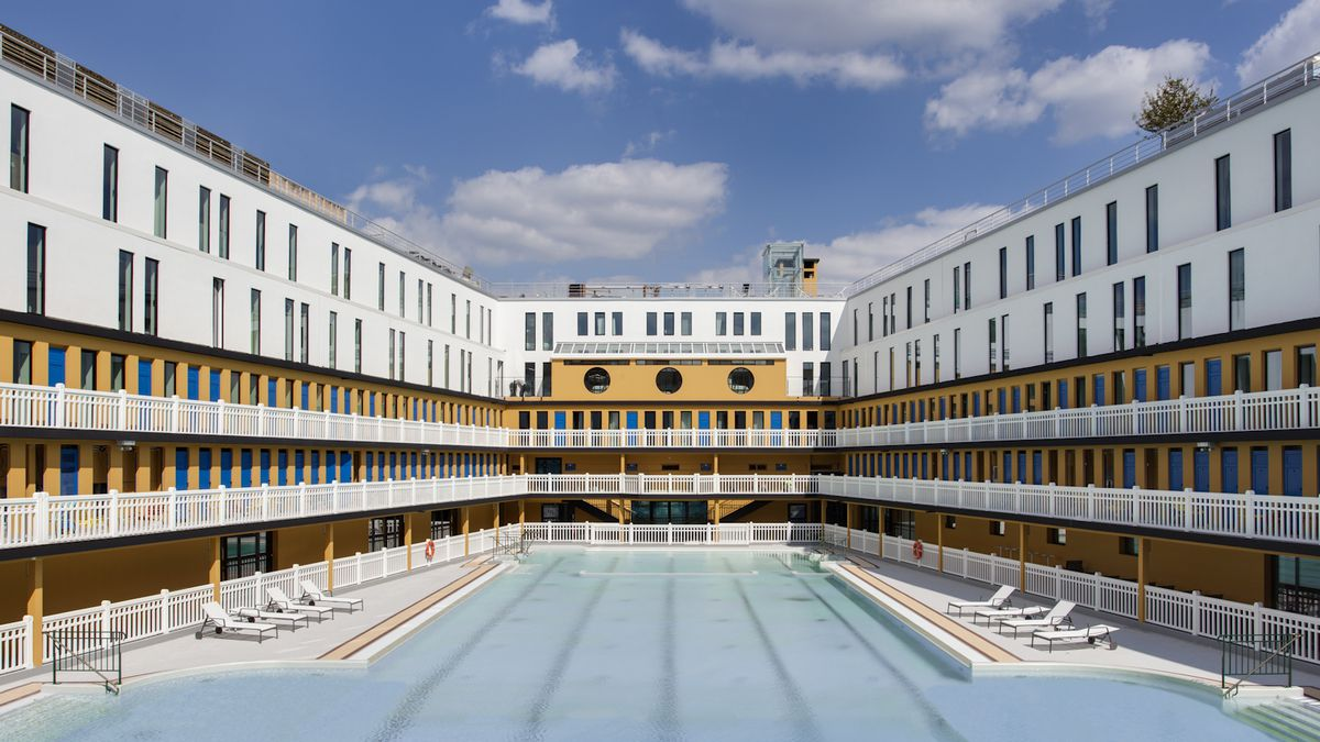 Swimming In Luxury An Iconic Pool Is Reborn In Paris The Verge
