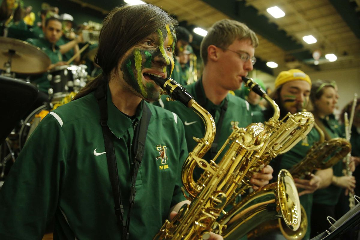 The Vermont pep band