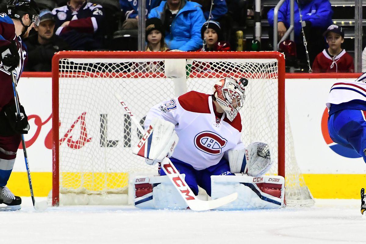 NHL: Montreal Canadiens at Colorado Avalanche