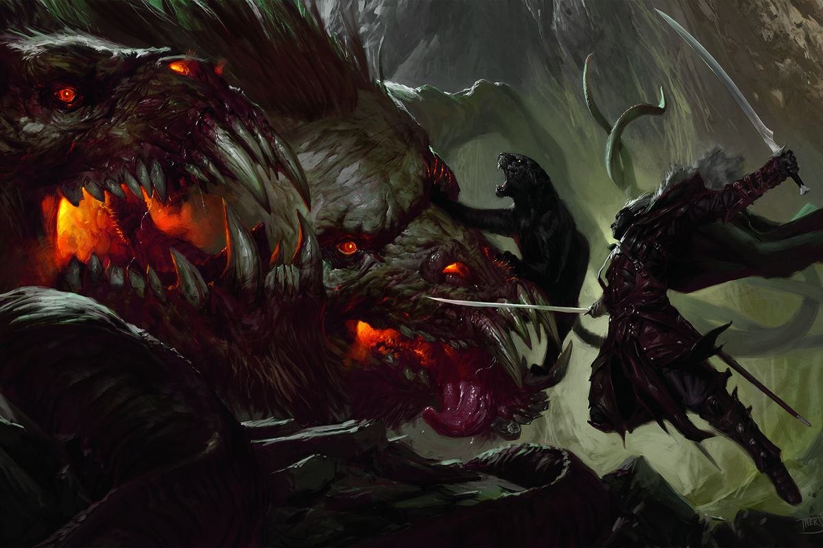 D&D's new storyline brings Drizzt back to the forefront
