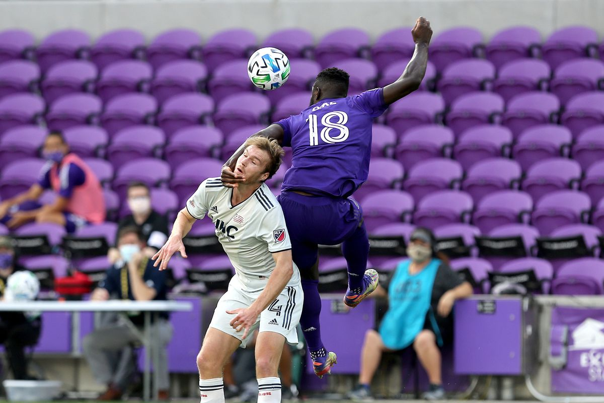 New England Revolution v Orlando City SC: Eastern Conference Semifinals - MLS Cup Playoffs