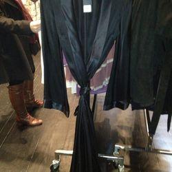 Black Silk Jumpsuit, $500 (Originally $1,250)