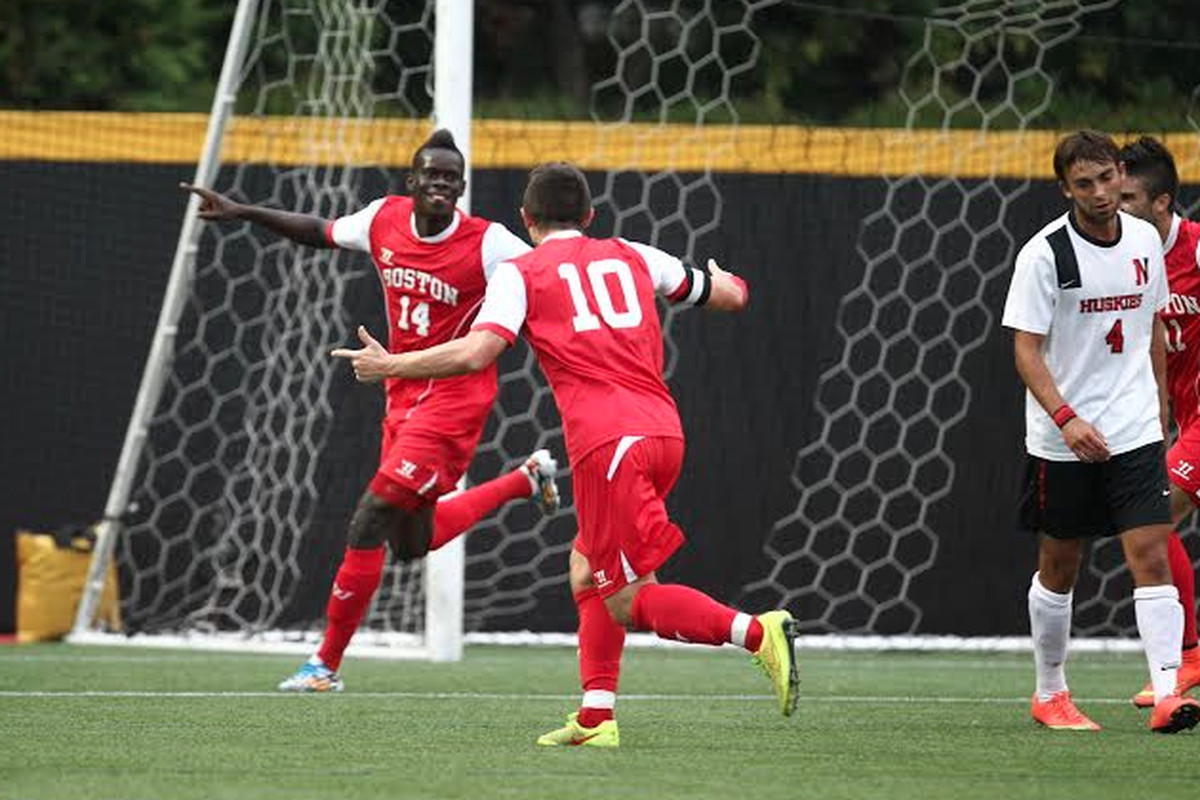 Dominique Badji was a standout for Boston University last year.
