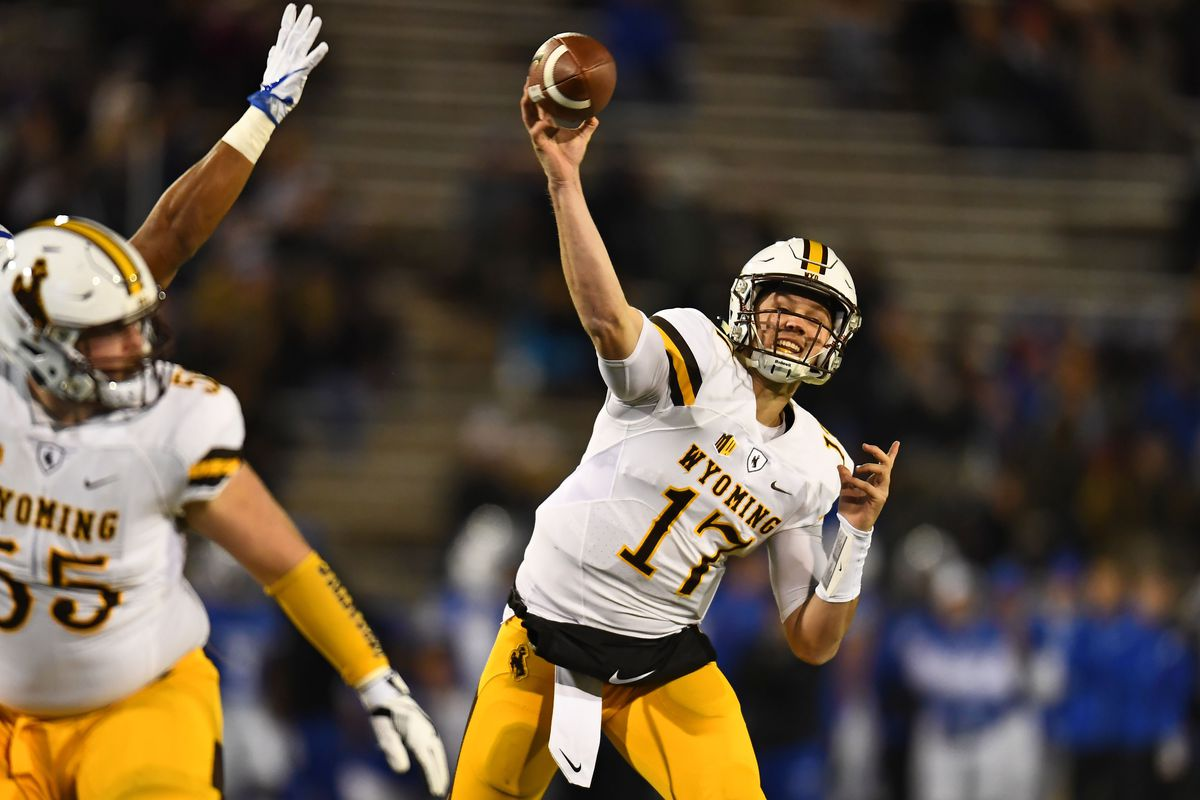 a50d4832b5a Josh Allen is a big NFL draft risk but still a super fun college QB to watch