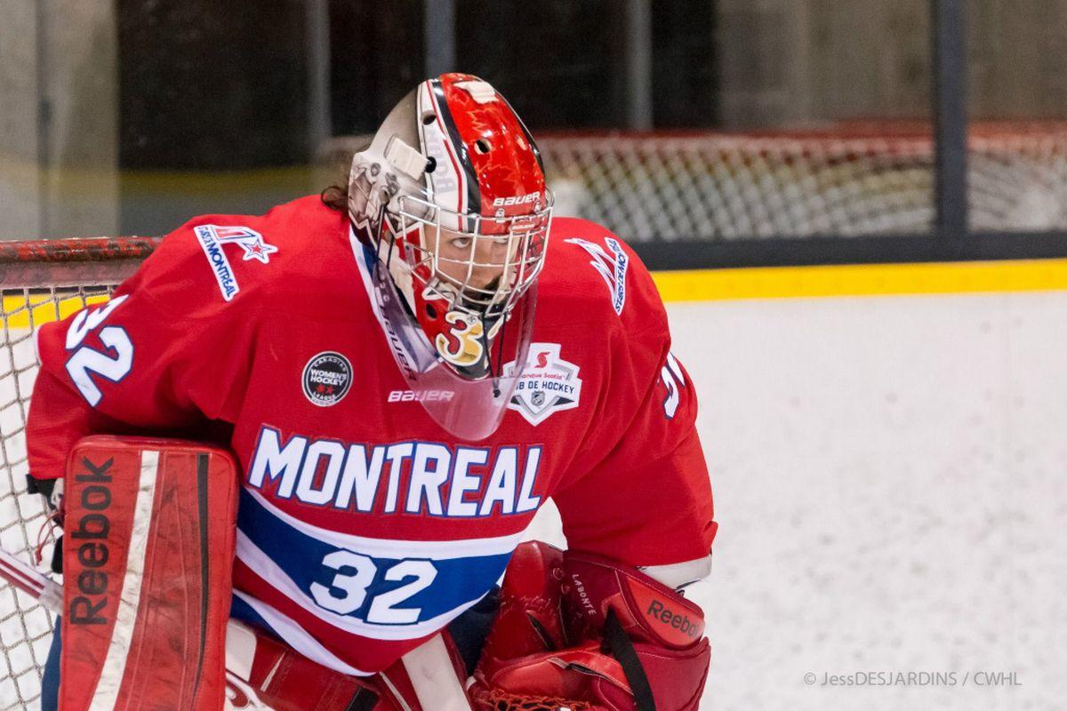 0929550e2 Les Canadiennes de Montreal Player Profile: Charline Labonté - Eyes ...
