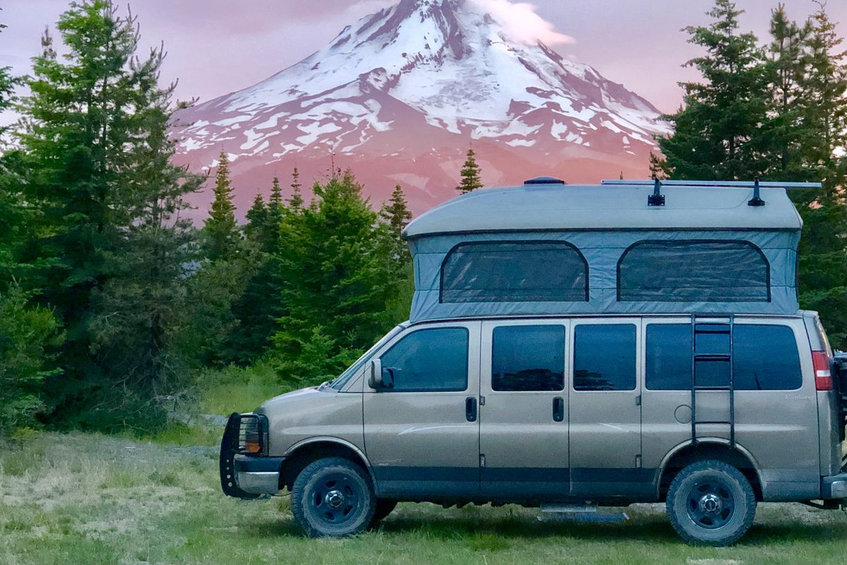Used campers for sale: a new website helps you buy a conversion van