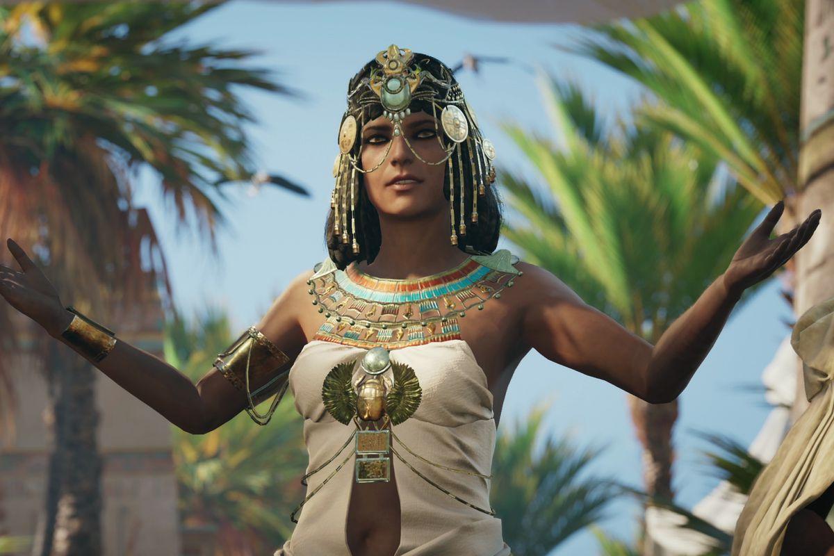 Assassin's Creed Origins - Egyptian woman