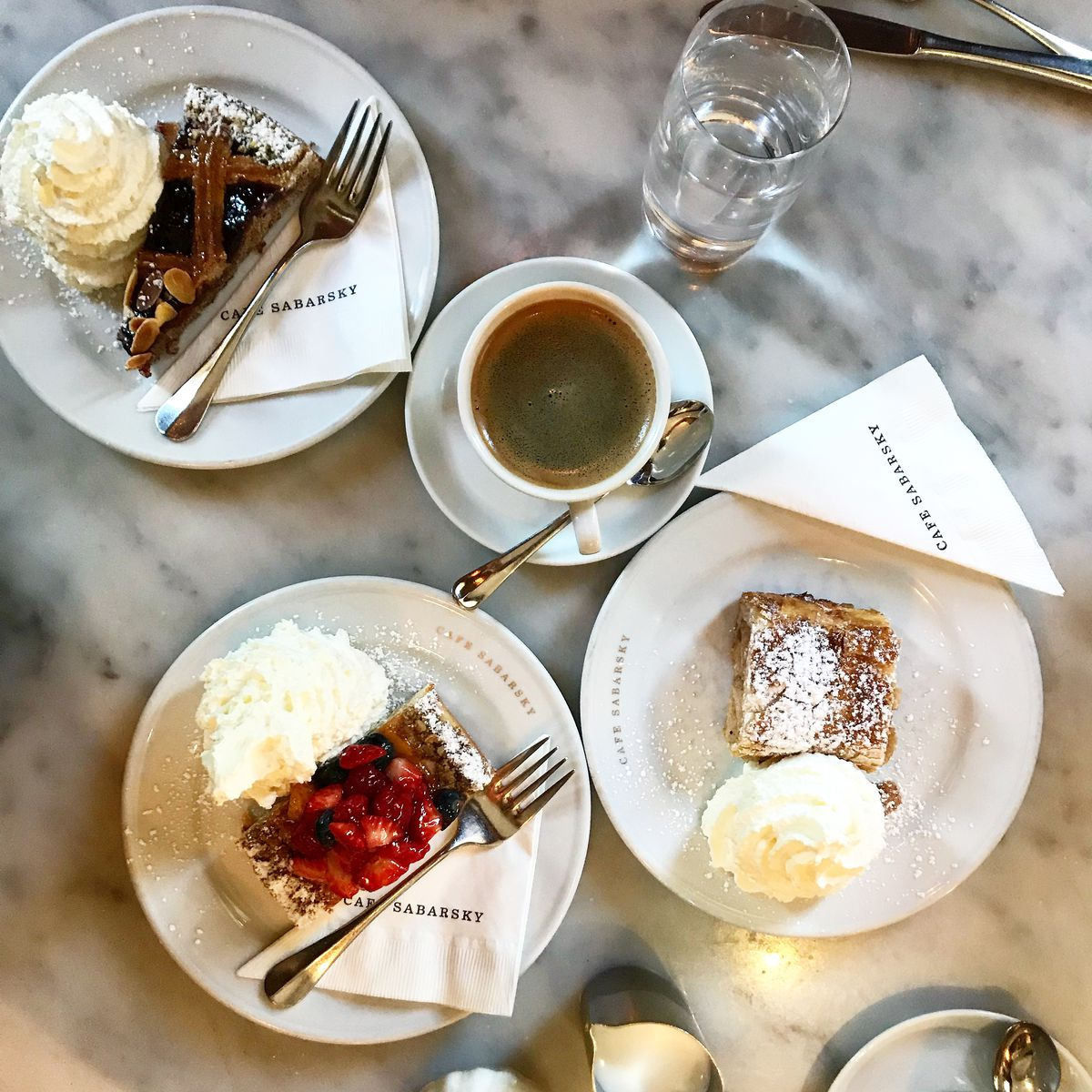 Pastries at Cafe Sabarsky