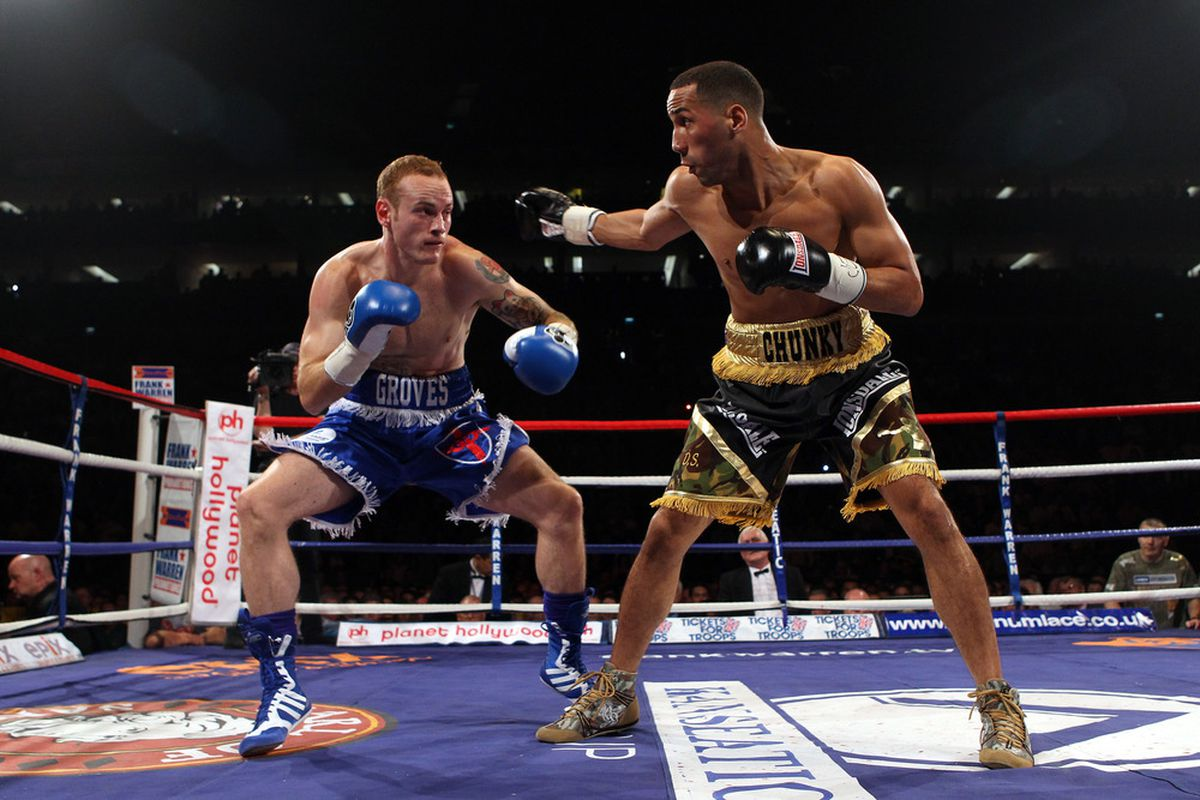 George Groves outpointed James DeGale to move to 2-0 lifetime against his rival. (Photo by Julian Finney/Getty Images)