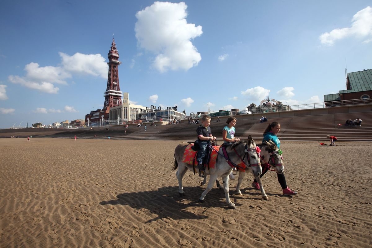 The Blackpool Tower Reopens After Refurbishment