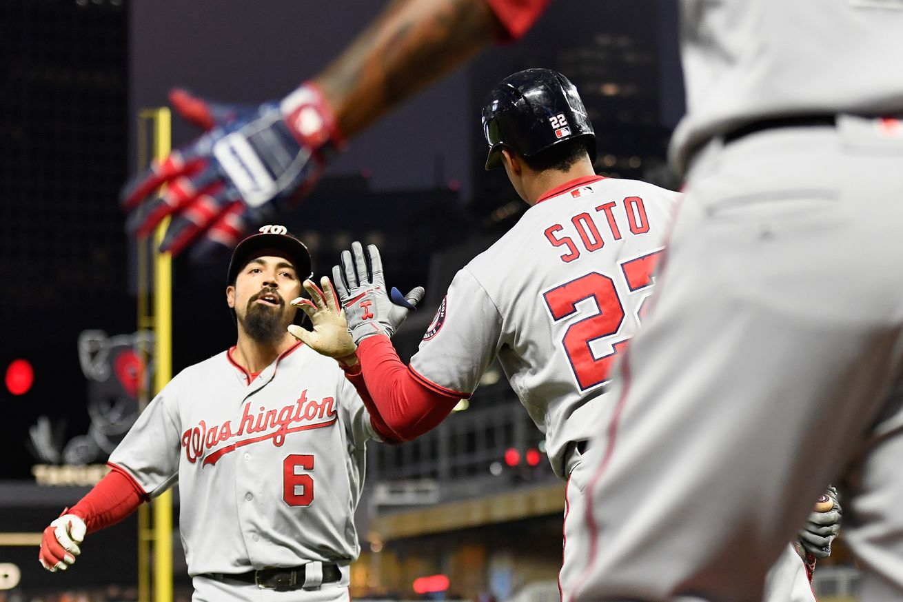 Washington Nationals 12-6 over Minnesota Twins to take 2 of 3 in Target Field