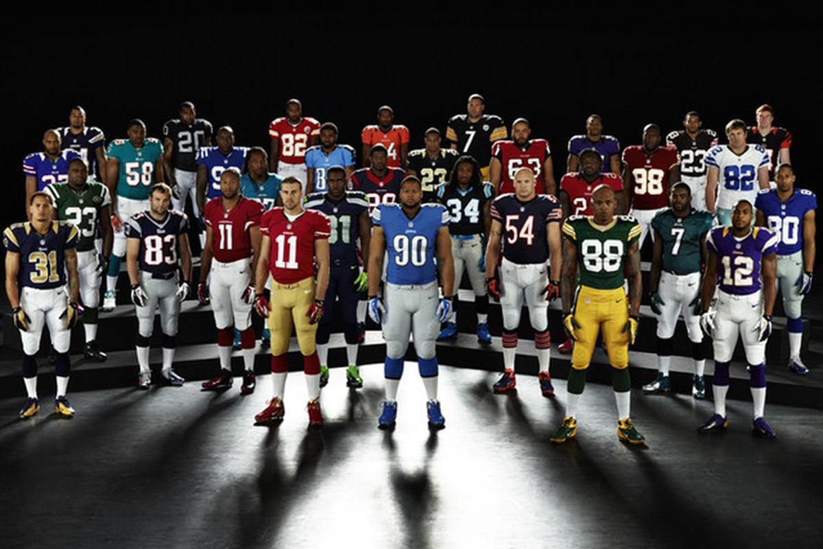 49ers, Raiders Reveal Nike Uniforms For 2012 SB Nation Bay Area