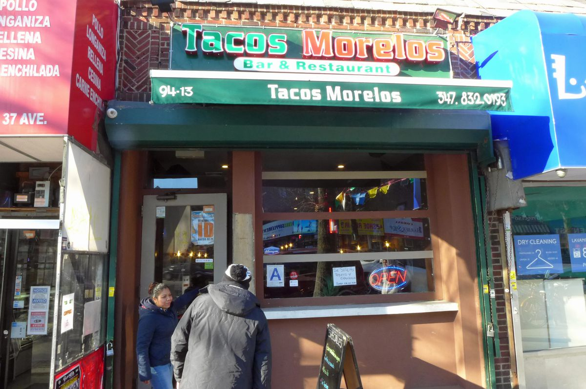 Tacos Morelos in Jackson Heights evolved from a street cart.