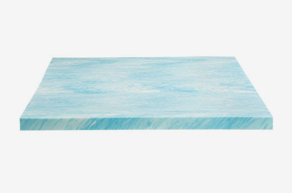 Light blue foam pad.