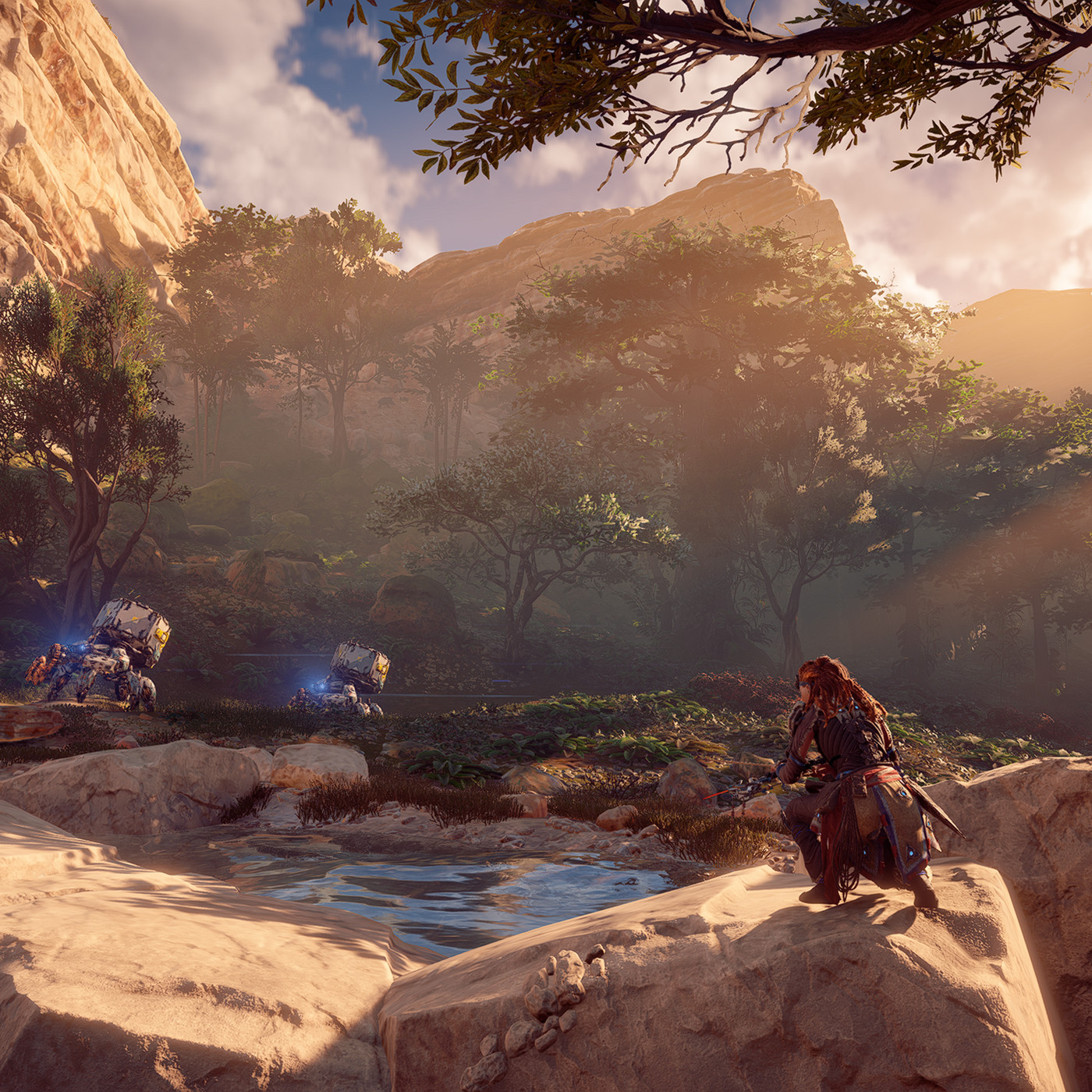 Horizon Zero Dawn For Pc Is A Great Idea That Needs Some Work The Verge