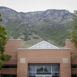 The Lucy Beth Rampton Adult Services Building on the Utah State Hospital grounds in Provo is pictured on Wednesday, May 17, 2017.
