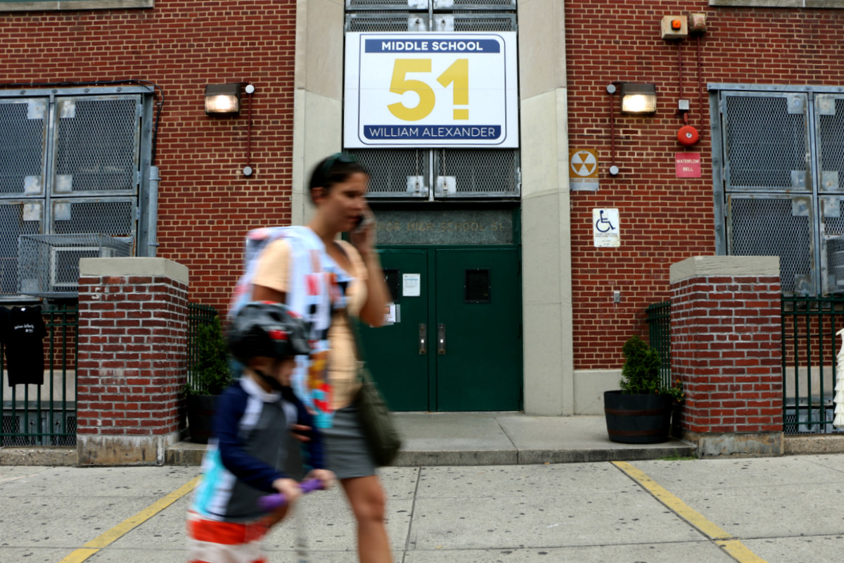 M.S. 51 in Park Slope is one of the most selective middle schools in District 15.