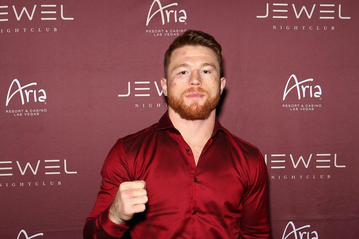 Canelo Alvarez Hosts Official After-Party At Jewel Nightclub Inside ARIA Resort & Casino