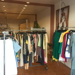 The sample sale section
