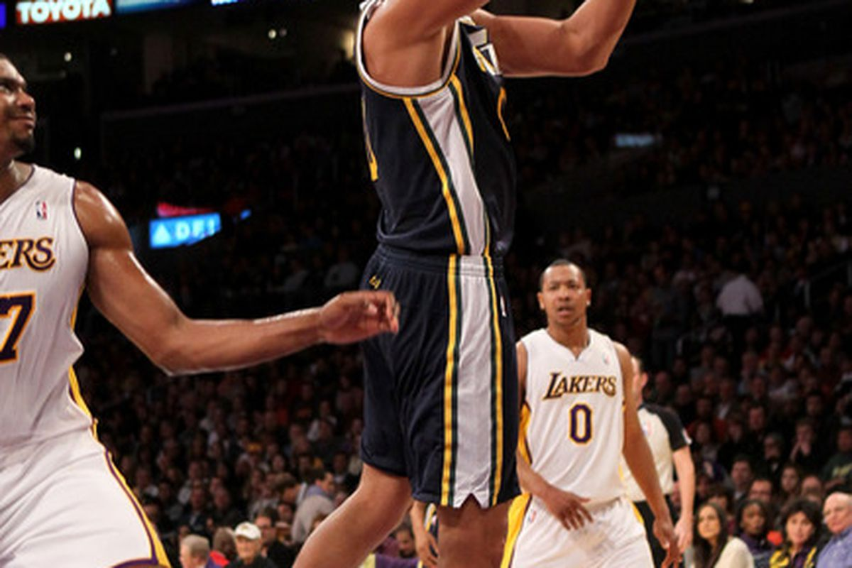 If Kanter's this great, will it kill the Jazz future payroll?
