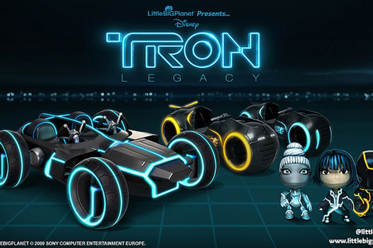 Littlebigplanet Karting To Receive Tron Legacy Vehicles