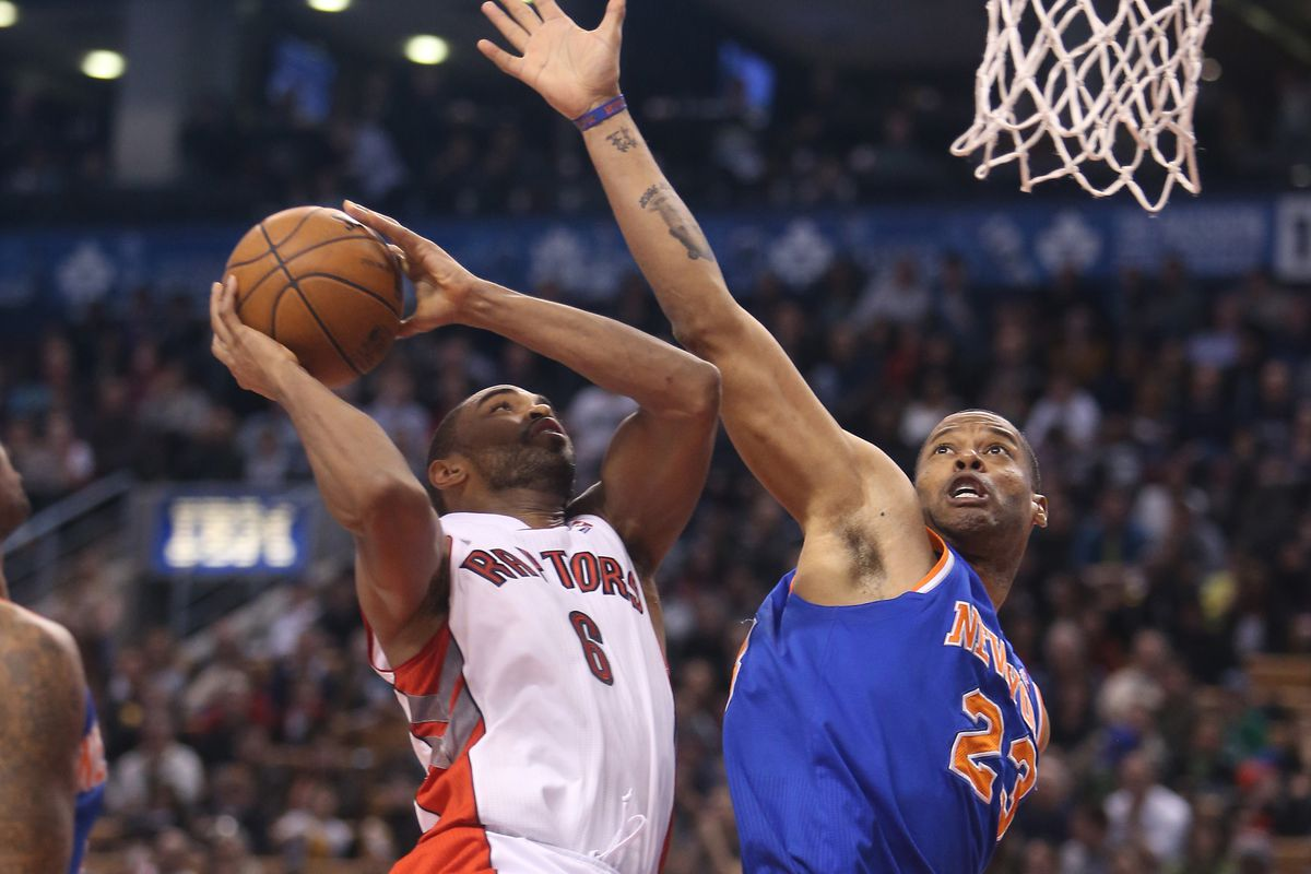 Anderson's big night kept the Raptors in the game on Friday night