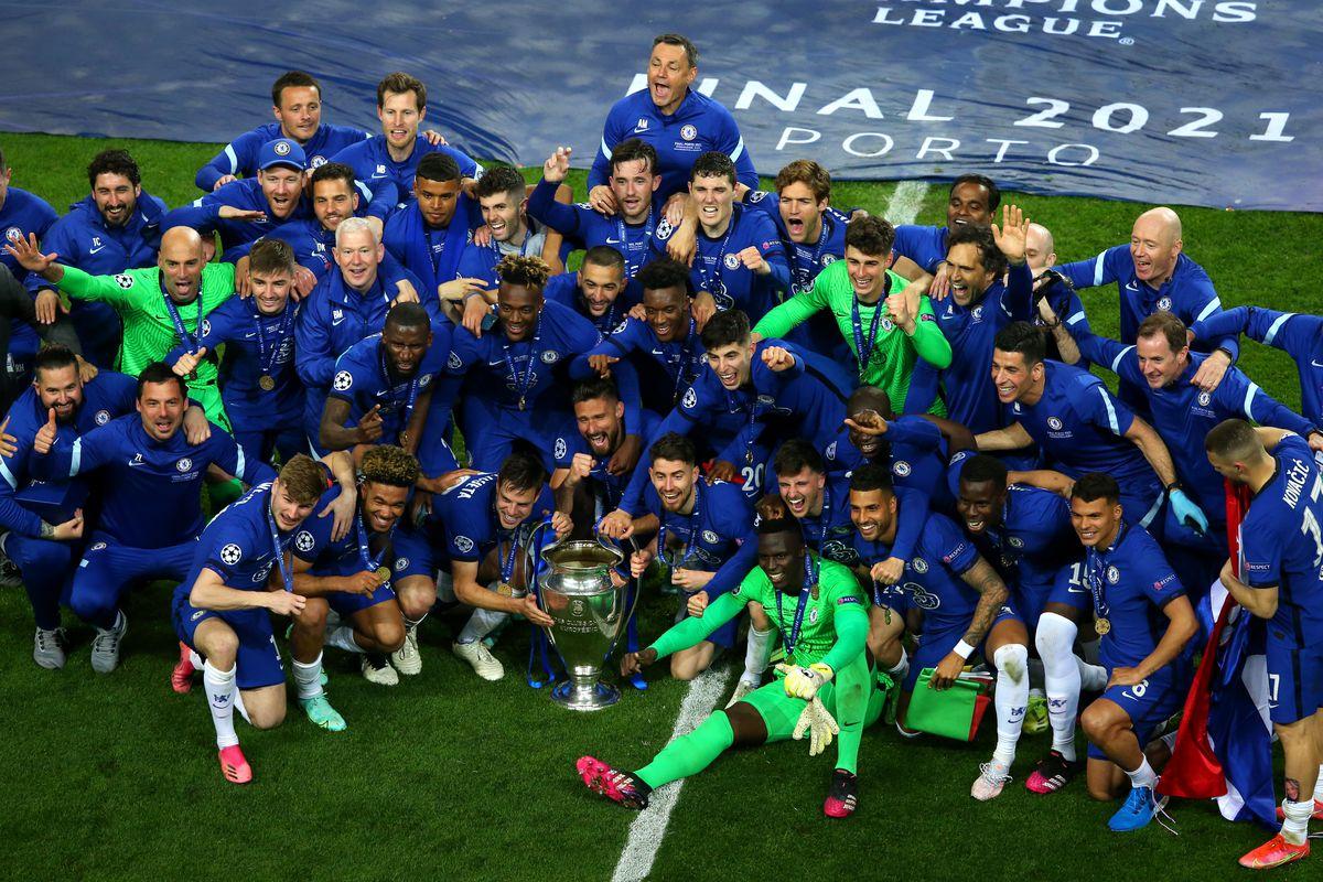 WATCH: Chelsea Champions League trophy lift, celebrations - We Ain't Got No History