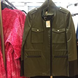 10. Sandro jacket ($145): There weren't many of these utilitarian rain jackets, and we expect them to go fast in today's weather.