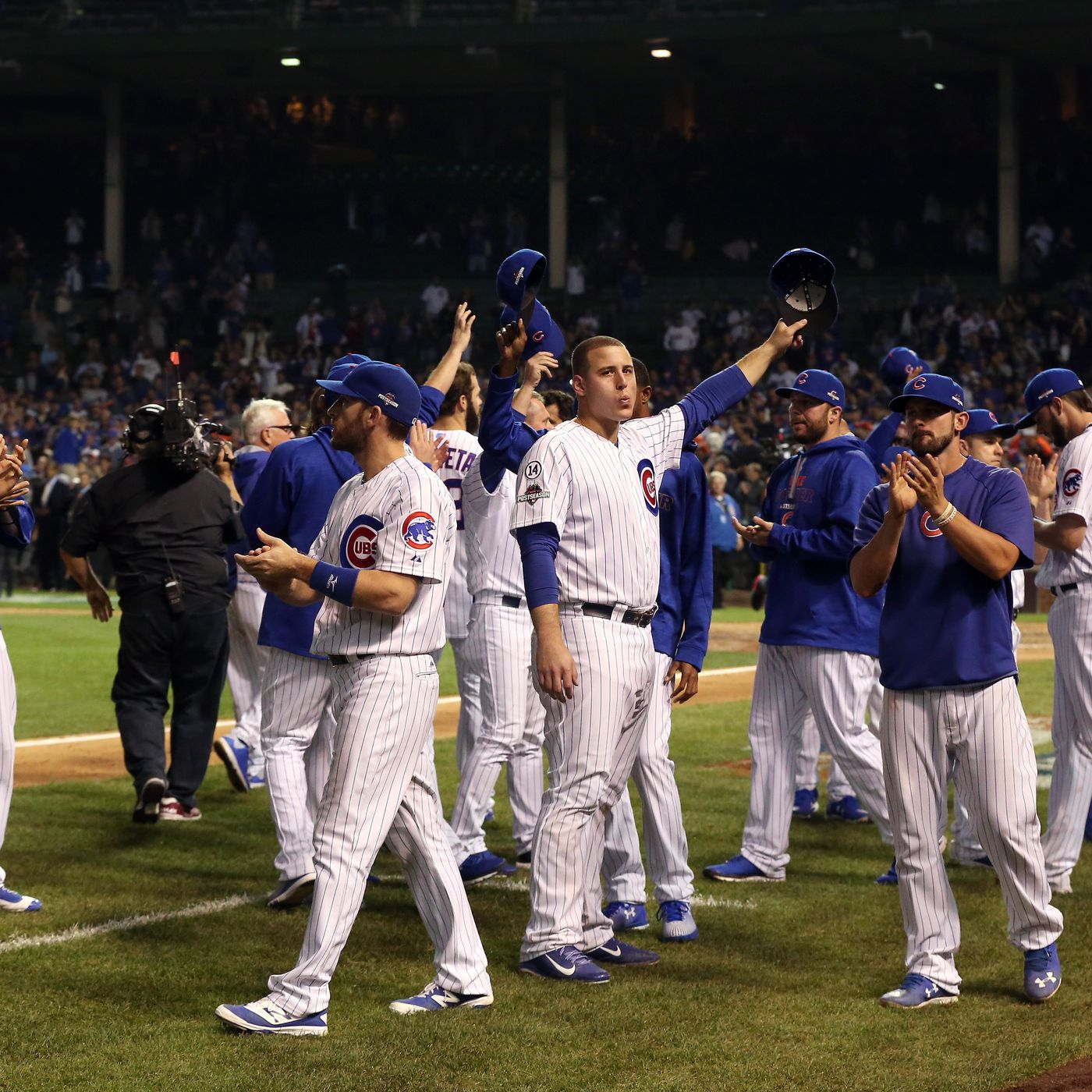 National League Championship Series Game 4, Mets 8, Cubs 3