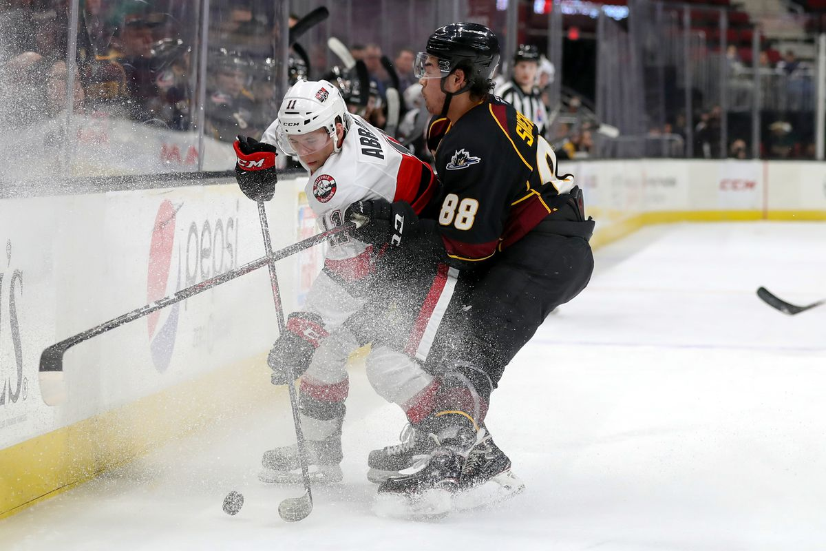 AHL: MAR 07 Belleville Senators at Cleveland Monsters