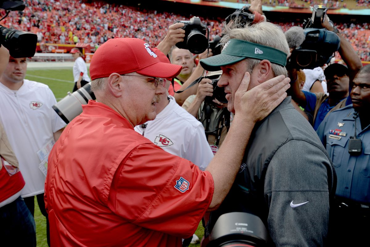 Could the Chiefs and Eagles be draft-day trade partners  - Arrowhead ... c63e0889b