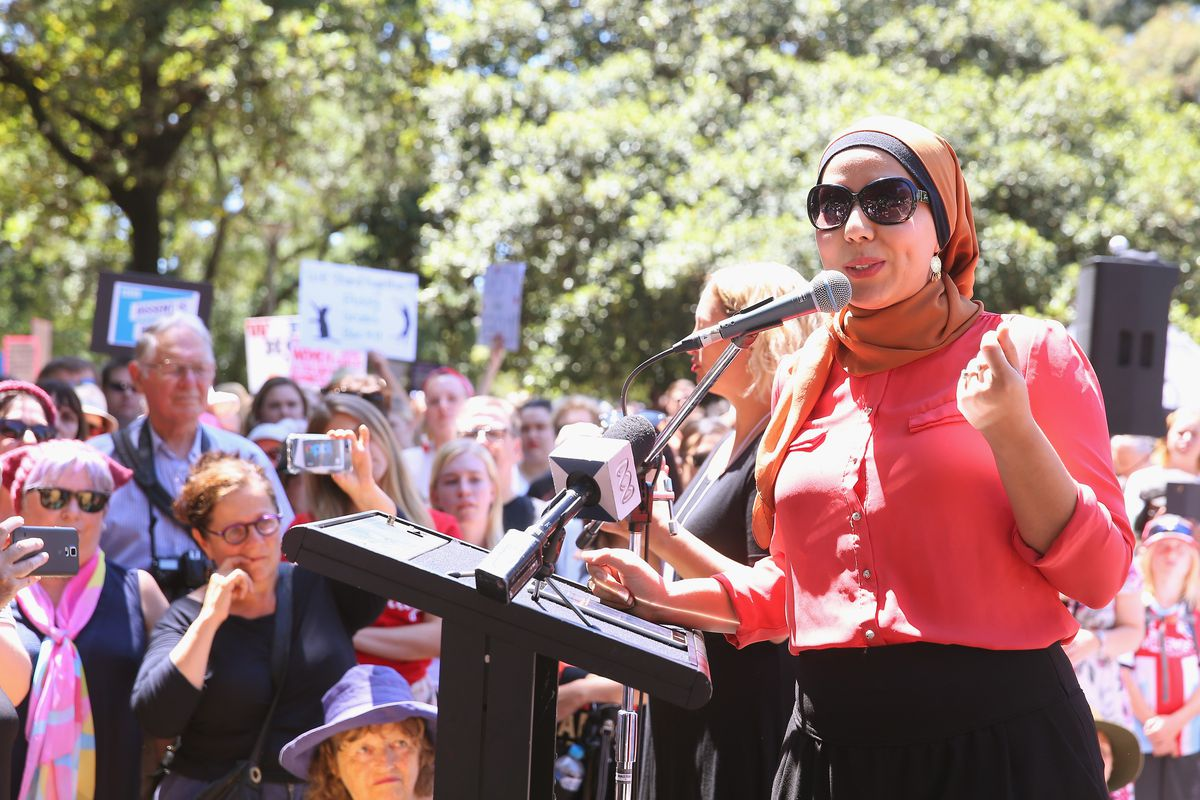 77902435b0a The marches in Australia were organized to show solidarity with those  marching ...