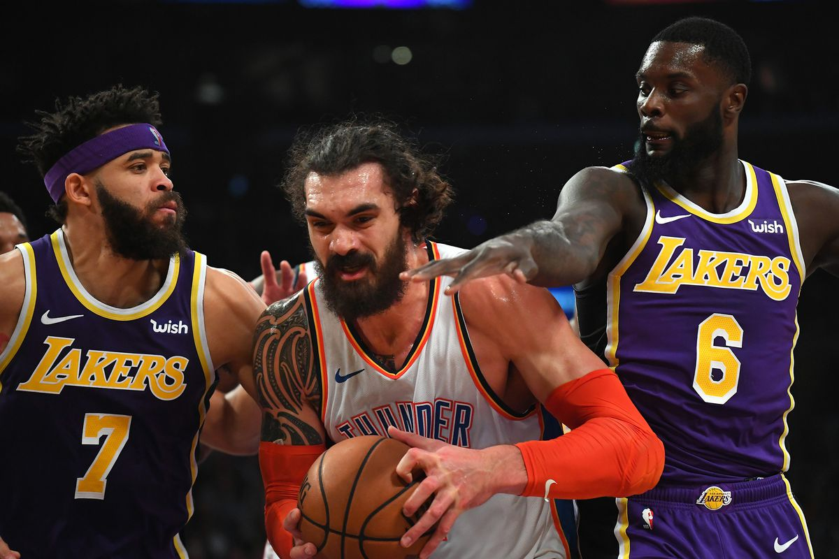 d2b5f3a9c770 JaVale McGee and Lance Stephenson think the Lakers just needed  a little  more time  to gel