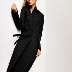 Cashmere blended robe coat, $189.90; wool jogger pants, $59.90