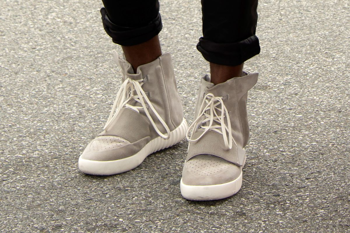 56f8cc9ad Kanye s Yeezy Boosts Are Selling for Thousands on eBay - Racked