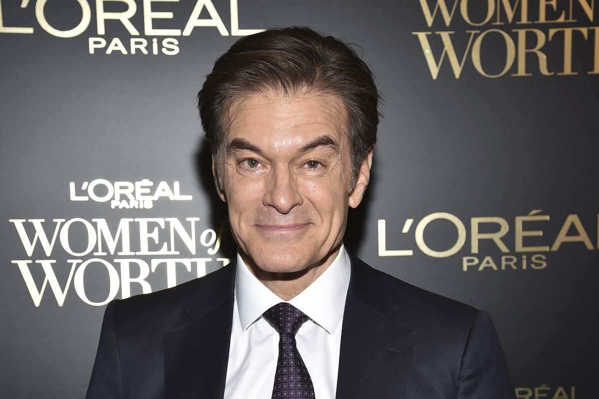 Dr. Mehmet Oz at the 14th annual L'Oreal Paris Women of Worth Gala in New York in 2019.