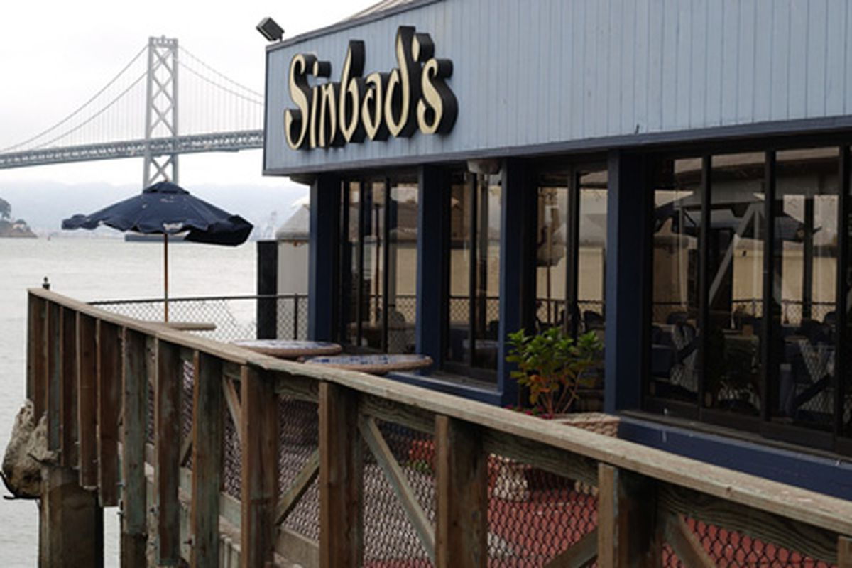 Sinbad's ... Who goes there?
