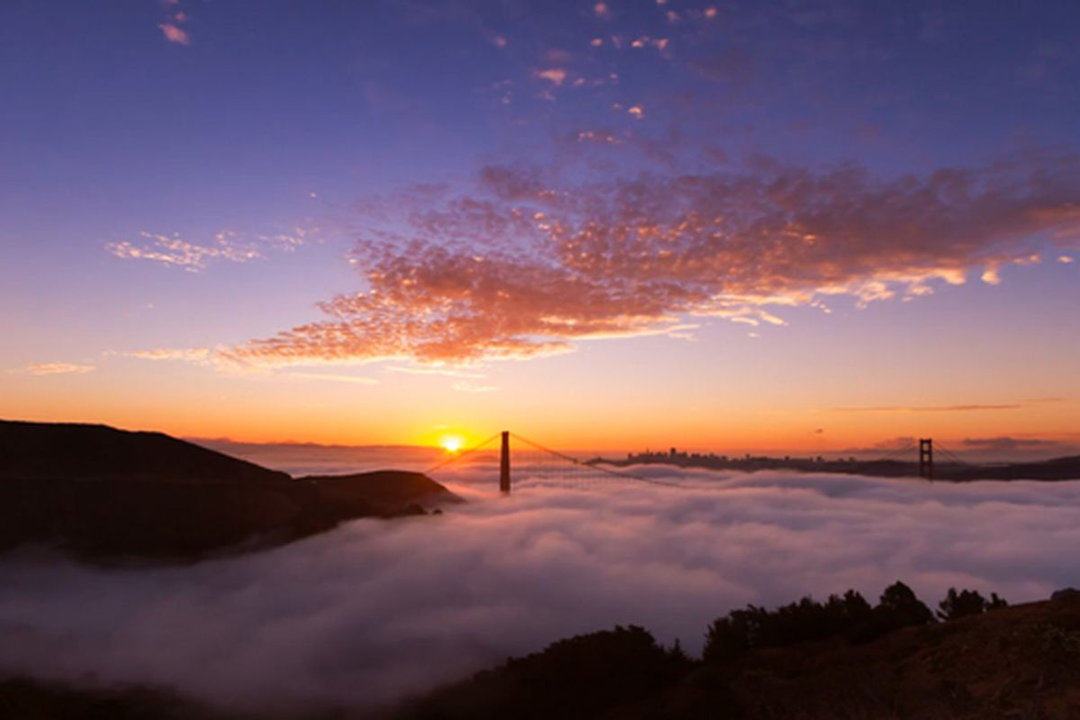 Watch The Time Lapse Beauty Of San Francisco Fog In