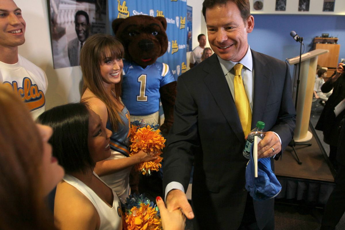 All eyes have been on Coach Mora since he arrived in Westwood.