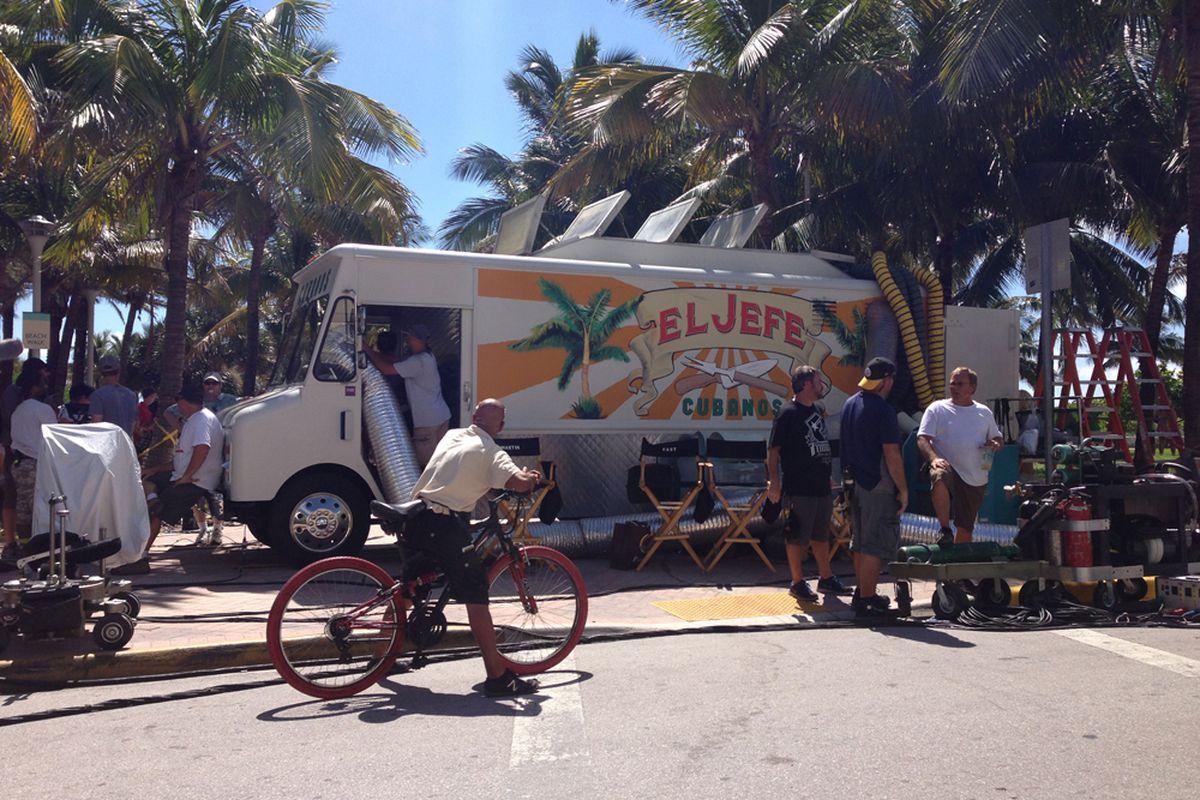 El Jefe Cubanos spotted in Miami.