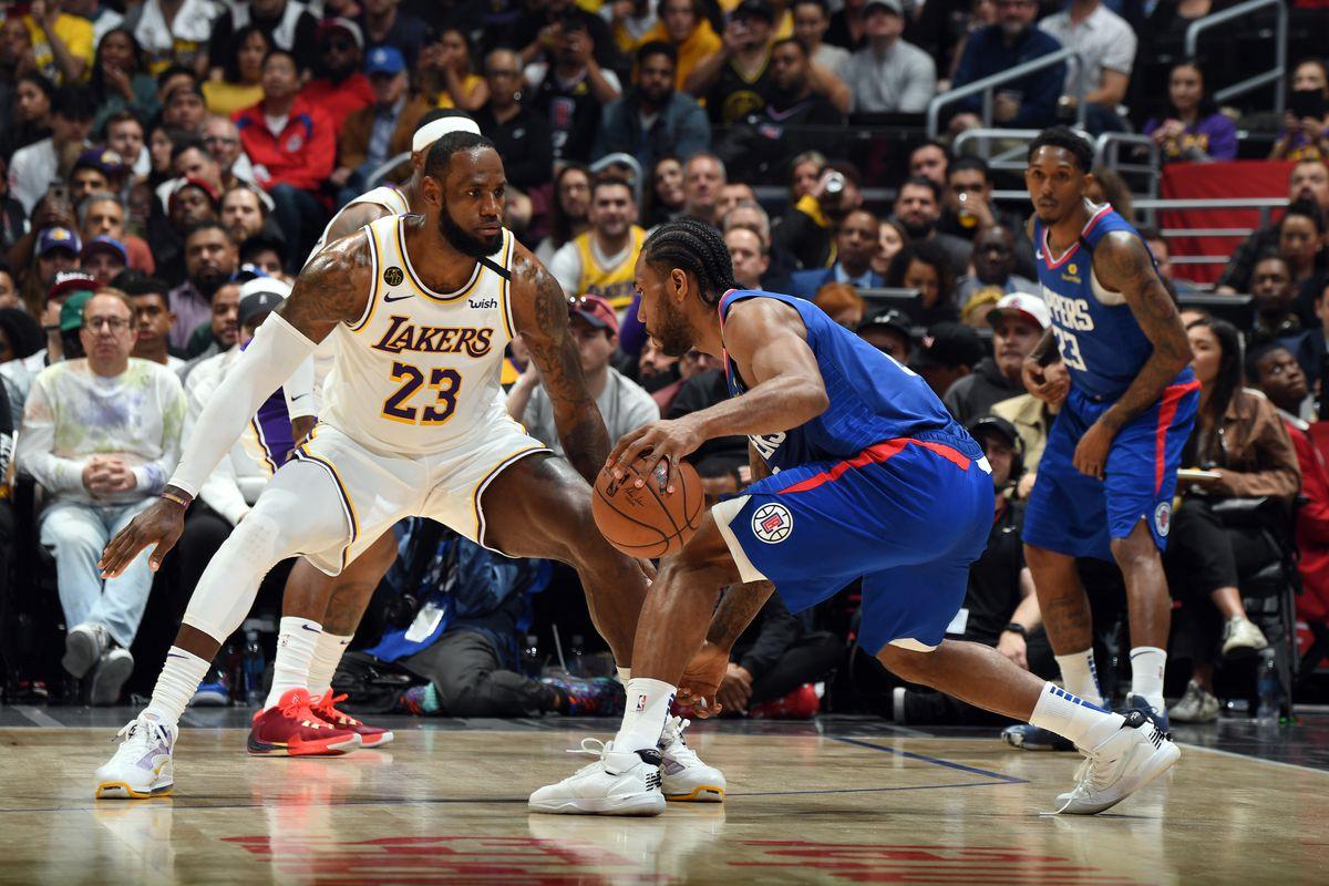 Lakers News Phil Handy Says Lebron James Asked To Guard Kawhi Leonard Silver Screen And Roll