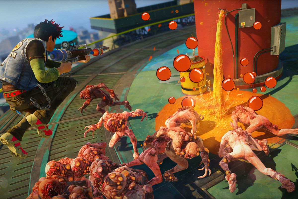 sunset overdrive comes to pc polygon