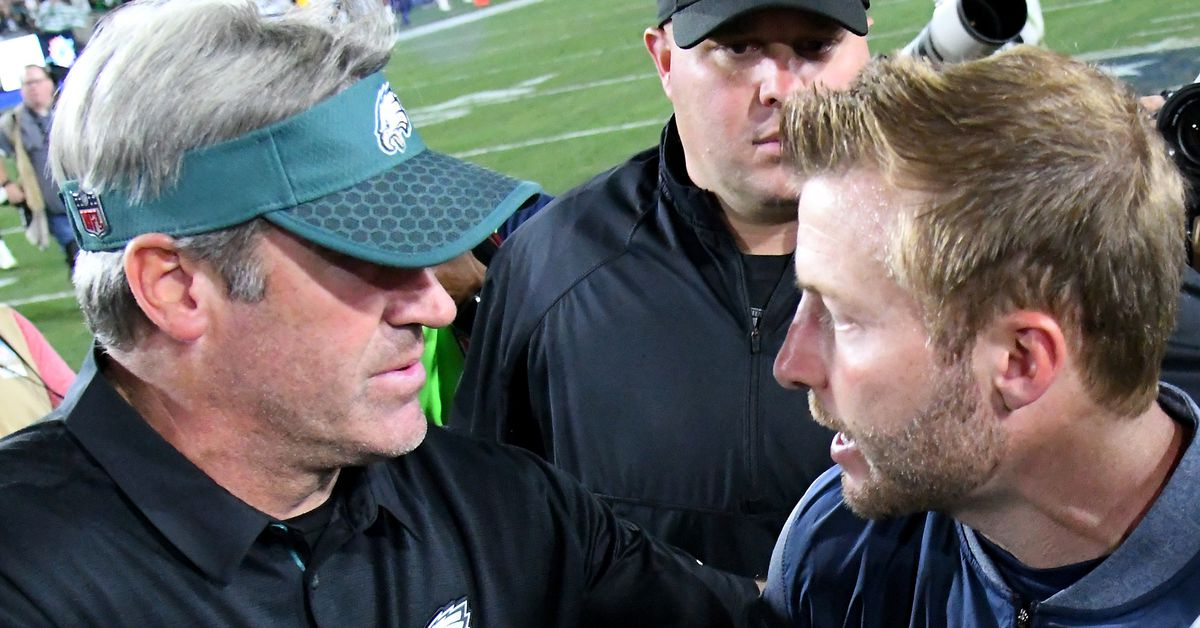 Doug Pederson underrated, Sean McVay overrated in NFL head coach rankings
