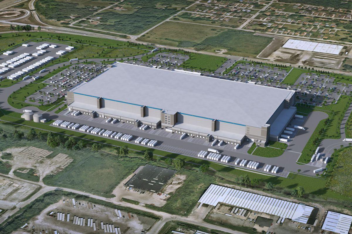 Amazon's fulfillment center in Markham.