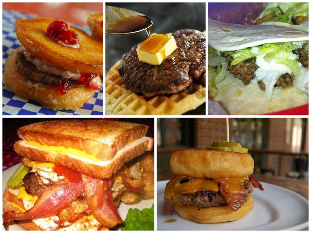 Delia's, Buttermilk Kitchen, Taqueria del Sol, the Vortex, Cypress Street.