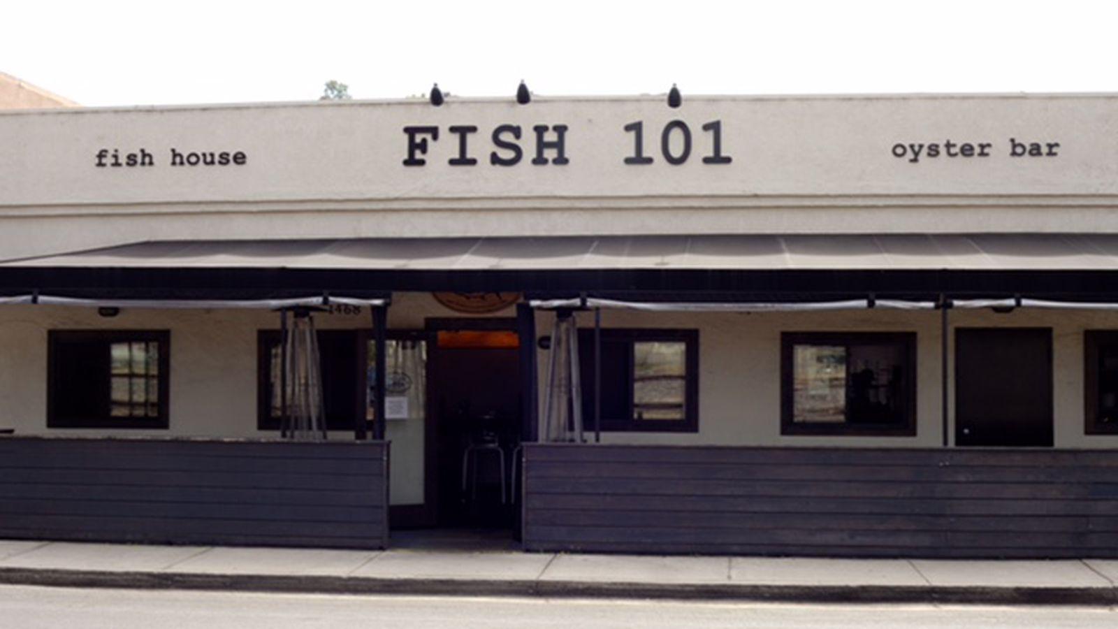 Fish 101 heading south to solana beach eater san diego for Fish 101 menu