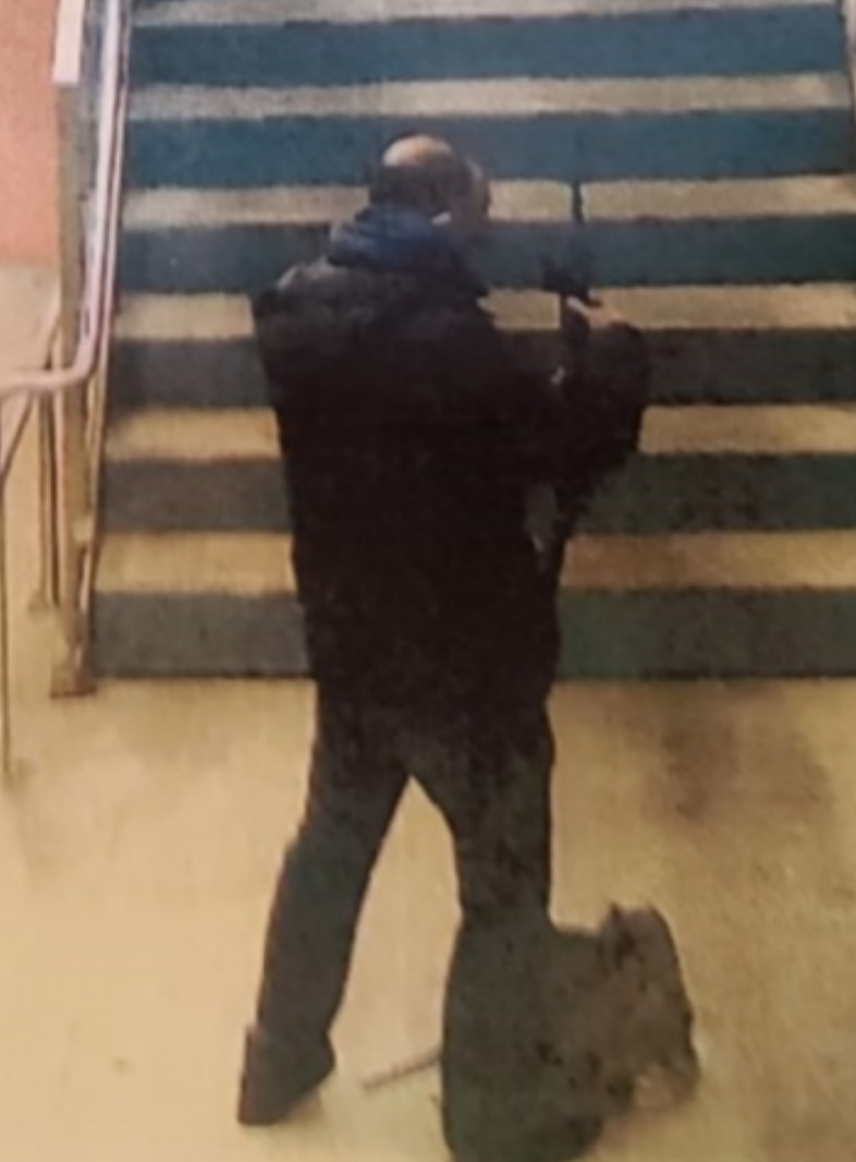 Authorities say this man is wanted for shooting a rifle on a Metra platform Dec. 1 at McCormick Place.