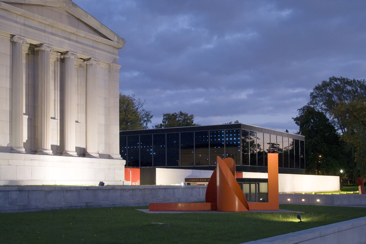 Famous Architects Of The 20Th Century oma's albright-knox proposal undoes the work of buffalo's most
